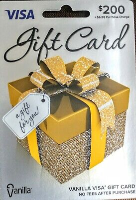200 Gift Card - FREE priority Mail Delivery