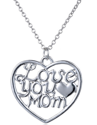 Gifts for Mom Necklace Set Mothers day gift Love You Mom