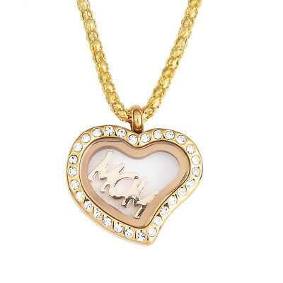 Gifts for Mom Heart Necklace Set Mothers day gift
