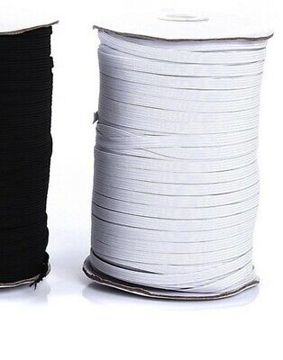 10 yards 14 Elastic For Face Mask white 14 inch elastic cord band for sewing