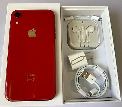 IPhone XR Red 64GB Factory Unlocked