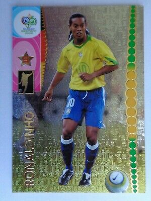 Panini Germany 2006 World Cup Trading Cards  60 Ronaldinho  Foil Brasil