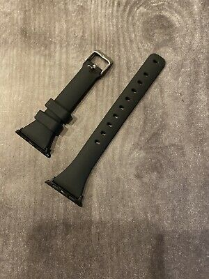 Black Watch Band For Apple 38mm