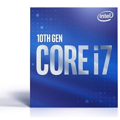 Intel Core i7-10700 Desktop Processor - 8 cores and 16 threads - Up to 4-80 GHz
