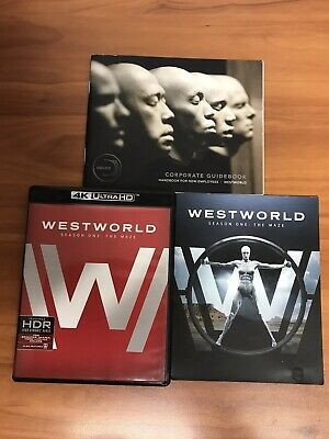 Westworld The Complete First Season 4K Ultra HDBlu-ray 2017