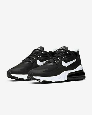 Nike Air Max 270 React Shoes Black White AO4971-004 Mens NEW