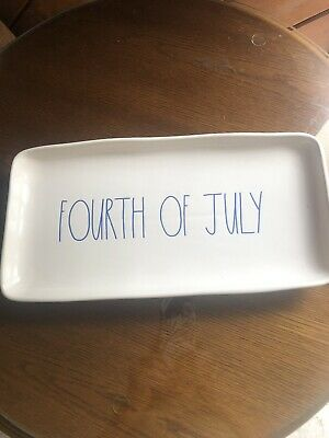 rae dunn fourth of july tray