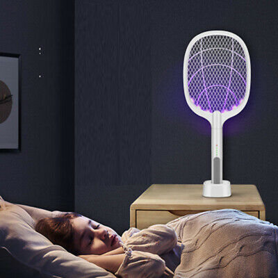 2020 New 2-In-1 Multifunctional USB Charging Mosquito Swatter Electric Bug Lamp