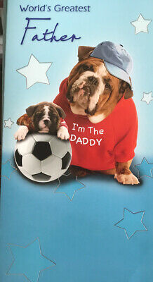 Fathers Day Card Worlds Greatest Father