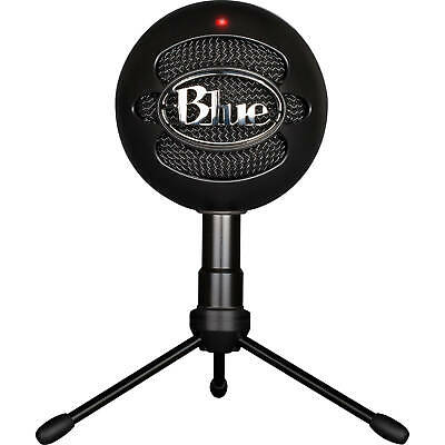 New In Box Blue Snowball iCE Microphone Black