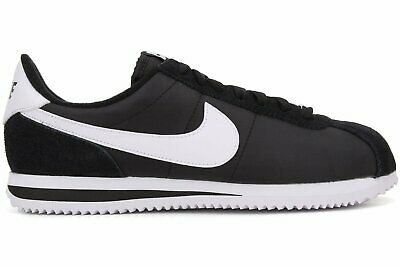 Nike Cortez Basic Nylon BlackWhite-Metallic Silver