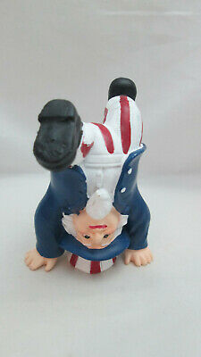Patriotic  Fourth of July Table Top Resin Uncle Sam Standing on Head Figurine