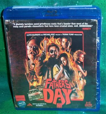 NEW RARE OOP TROMA FATHERS DAY GRINDHOUSE HORROR REVENGE MOVIE BLU RAY 2012