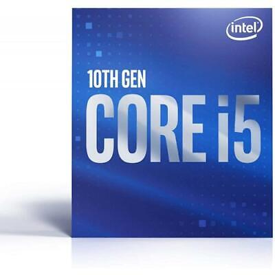 Intel Core i5-10400 Desktop Processor - 6 cores And 12 threads - Up to 4-30 GHz