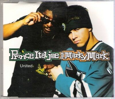 PRINCE ITAL JOE & MARKY MARK - UNITED - CD MAXI - EASTWEST RECORDS (1994)