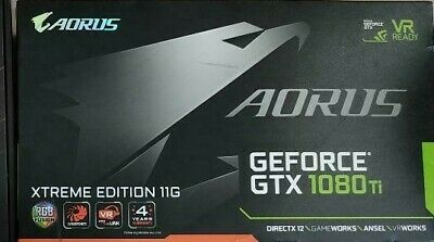 Gigabyte Aorus GeForce GTX 1080 Ti 11GB GDDR5+ Extreme Edition mint condition