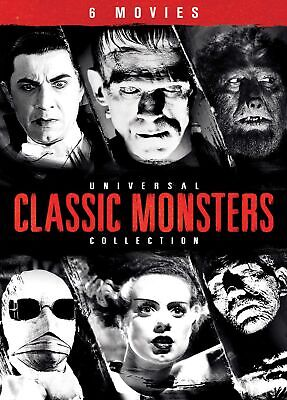 Universal Classic Monsters Collection DVD  NEW