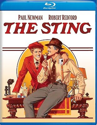 The Sting Blu-ray Paul Newman NEW