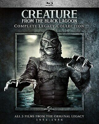 Creature from the Black Lagoon Complete Legacy Collection Blu-ray Richard Carl