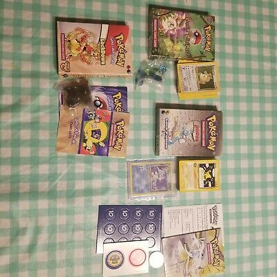 Pokemon Theme Deck Cold Fusion and Power reserve with boxes