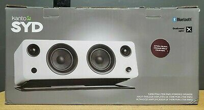 Kanto SYD Powered Bookshelf Stereo Speaker Matte Burgundy