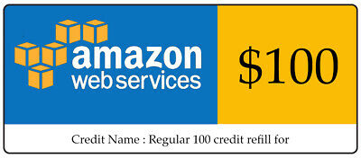 AWS 100 Amazon Web Services VPS Promocode Credit Code Lightsail EC2 IC-Q3-9