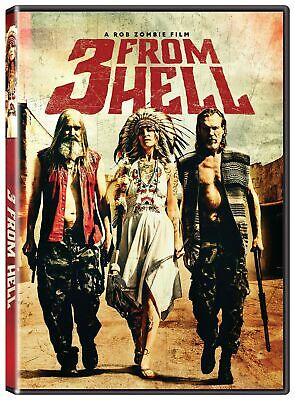 3 from Hell DVD Bill Moseley NEW