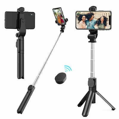 Selfie Stick Tripod Remote Desktop Stand Cell Phone Holder For iPhone Samsung