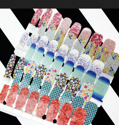 2 Package For 15 COLOR STREET FALL 2020 SETS NAIL POLISH STRIPS 2 PACK FOR 15