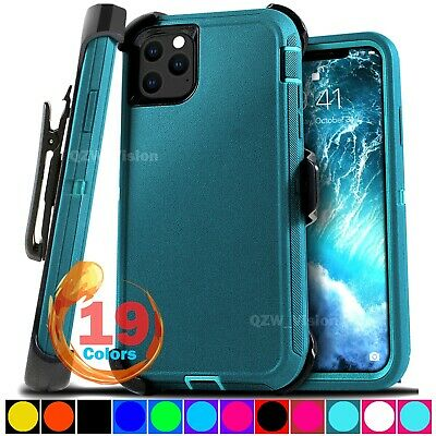 For Apple iPhone 11  11 Pro max Shockproof Protective Rugged Case - Belt Clip