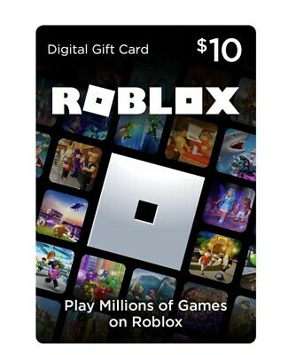 Roblox 10 Digital Code activated and ready- Email Code Only