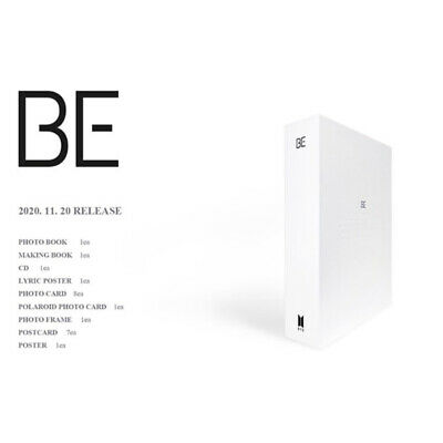 BTS BE Deluxe Edition CD-Photobook-Photocard-Etc-Tracking Number