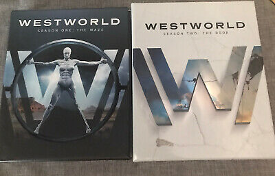 Westworld Season One The Maze And Season Two  The Door-  DVDS