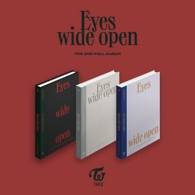 TWICE 2nd Album EYES WIDE OPEN All package - Preorder photocard DHL SHIPPING