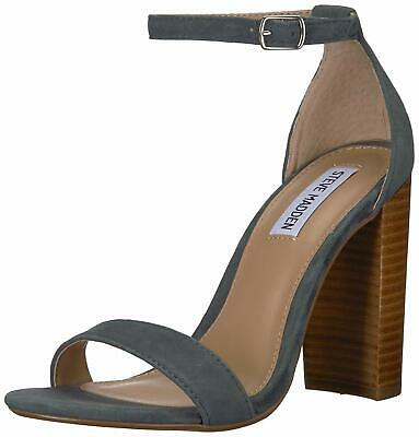 Steve Madden Womens Carrson Leather Open Toe Special BlueMulti Size 6-0 fAPX