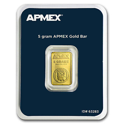 5 gram Gold Bar - APMEX TEP