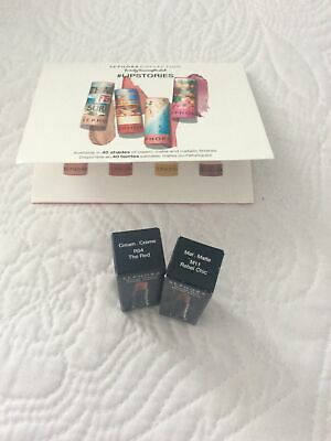 LOT 3 lip gloss sticks   SEPHORA brand    deluxe gwp size trial