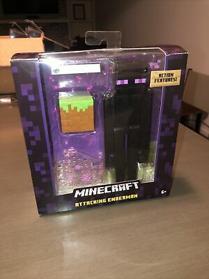 Minecraft Attacking Enderman 5 Figure