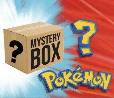 Pokemon Mystery Box PSA Card Or Booster Packs Included
