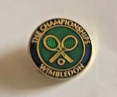 Enamel Badge - The Championships Wimbledon    Tennis