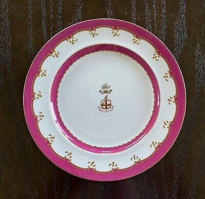 Coalport Armorial Porcelain Plate Prince Of Wales City Of London