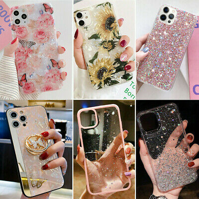 Glitter Sparkle Bling Cute Case For iPhone 12 Pro Max mini 11 XR XS MAX 7 8 Plus