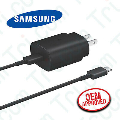 Original Samsung Galaxy Note 20 5G Ultra 25W USB-C Fast Charger - Type C Cable