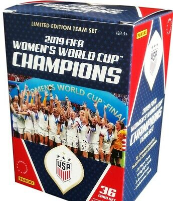 2019 FIFA WOMENS WORLD CUP CHAMPIONS LIMITED EDITION 36 CARD TEAM SET 11084