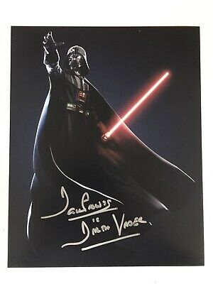STAR WARS DARTH VADER DAVID PROWSE SIGNED AUTOGRAPHED 8x10 PHOTO W EXACT PROOF