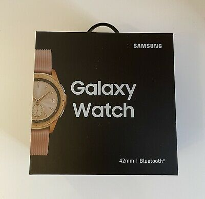 Samsung Galaxy Watch SM-R810 42mm Rose Gold Bluetooth Smartwatch