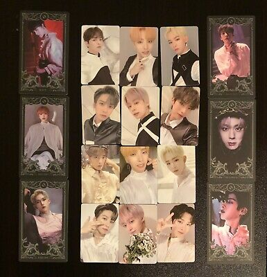 ONEUS LIVED album Photocards and Character Cards