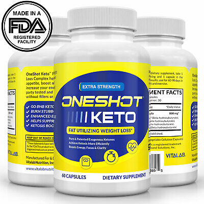 Keto One Shot Official Weight Loss Pills Supplement Keto Diet Pills Fat Burner