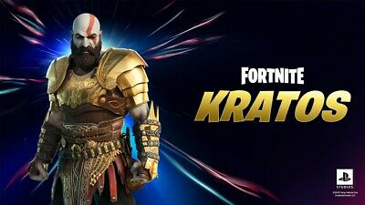 Fortnite Kratos Armored Style  PS5 Exclusive  Upgrade Only
