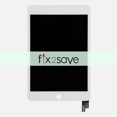 For iPad mini 4 A1538 A1550 White LCD Display  Digitizer Assembly Touch Screen